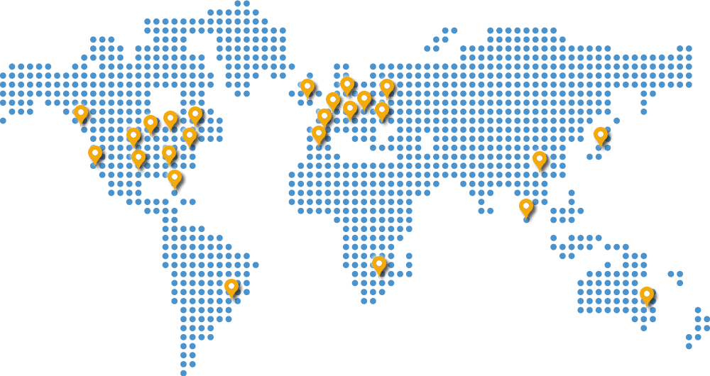 MyIPHide servers all over the world